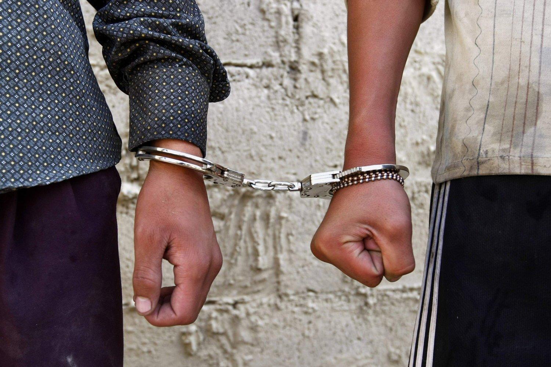 Задержаны два молодых человека и переданы сотрудникам полиции