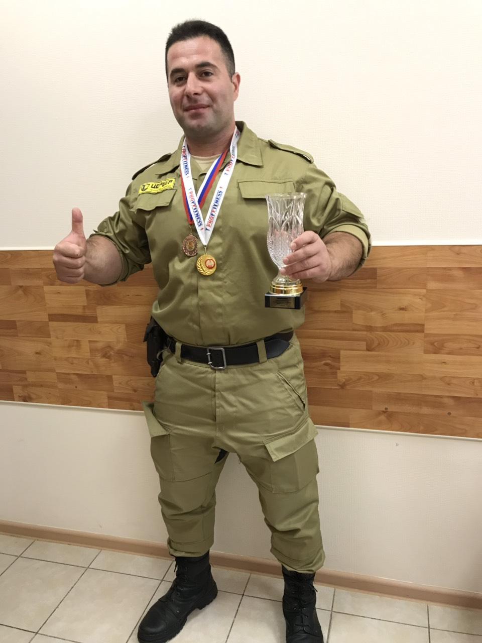 Сотрудник ГП Цербер - призёр Кубка по пауэрлифтингу