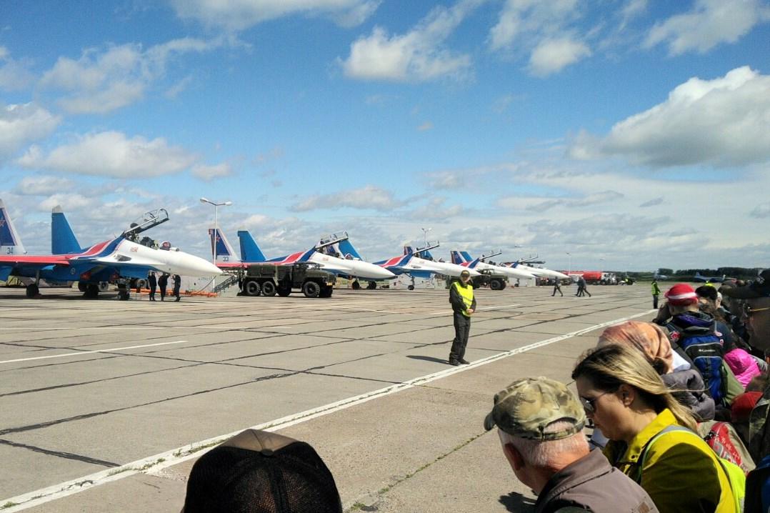 Авиационный фестиваль Крылья Пармы